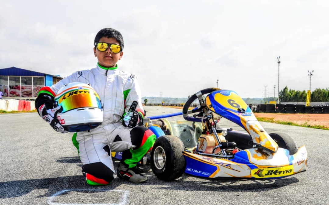 Arafath Sheikh 'India's youngest karting sensation